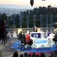 """Exclusif - Laurent Ruquier - Enregistrement de l'émission """"On n'est pas couché"""" à la Villa Domergue lors du 70ème Festival International du Film de Cannes le 24 mai 2017. L'émission sera diffusée le 27 mai sur France 2. © Denis Guignebourg/Bestimage"""