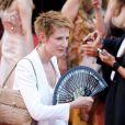"""Natacha Polony - Montée des marches du film """"D'Après une Histoire Vraie"""" lors du 70ème Festival International du Film de Cannes. Le 27 mai 2017. © Borde-Jacovides-Moreau/Bestimage"""