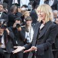 """Uma Thurman - Montée des marches du film """"D'Après une Histoire Vraie"""" lors du 70e Festival International du Film de Cannes. Le 27 mai 2017. © Borde-Jacovides-Moreau / Bestimage"""