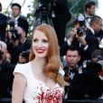 Jessica Chastain en robe Zuhair Murad - Montée des marches de la cérémonie de clôture du 70ème Festival International du Film de Cannes. Le 28 mai 2017. © Borde-Jacovides-Moreau/Bestimage