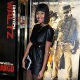 """VV Brown. - Premiere du film """"Django Unchained"""" a Londres le 10 Janvier 2013."""