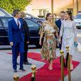 Le prince Frederik et la princesse Mary de Danemark, le prince Daniel et la princesse Victoria de Suède arrivent au dîner officiel au Eric Ericsonhallen à Stockholm. Le 29 mai 2017