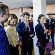 """La princesse Victoria de Suède et le prince Frederik de Danemark au """"Liveable Scandinavia"""" à Stockholm le 29 mai 2017"""