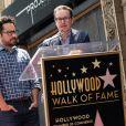 J.J. Abrams et Matt Reeves - Keri Russell reçoit son étoile sur le Walk of Fame à Hollywood, le 30 mai 2017