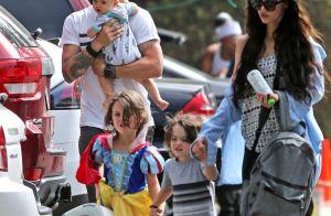 Megan Fox, radieuse avec ses trois garçons pour une sortie en famille