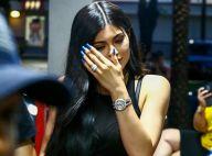 Kylie Jenner : Abdos à l'air et gros diamants pour une sortie avec Travis Scott