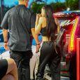Kylie Jenner et son compagnon Travis Scott à Miami, le 6 juin 2017