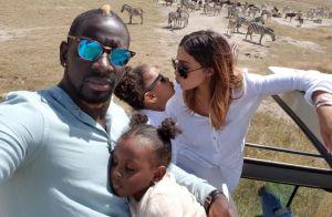 Mamadou Sakho : Safari de rêve avec sa sublime Majda et leurs adorables filles