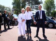 Brigitte Macron : Chic en jean slim et sourire éclatant avec Emmanuel