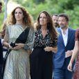 lexia Niedzielski et Coco Brandolini D'Adda - Les invités arrivent au mariage de Jessica Chastain et de Gian Luca Passi de Preposulo à la Villa Tiepolo Passi à Trévise en Italie le 10 juin 2017.