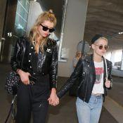 Kristen Stewart et Stella Maxwell : Amoureuses à Paris, main dans la main