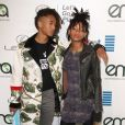 Willow Smith et Jaden Smith - Célébrités arrivant au 26ème EMA Awards au studio de la Warner à Burbank le 22 octobre 2016