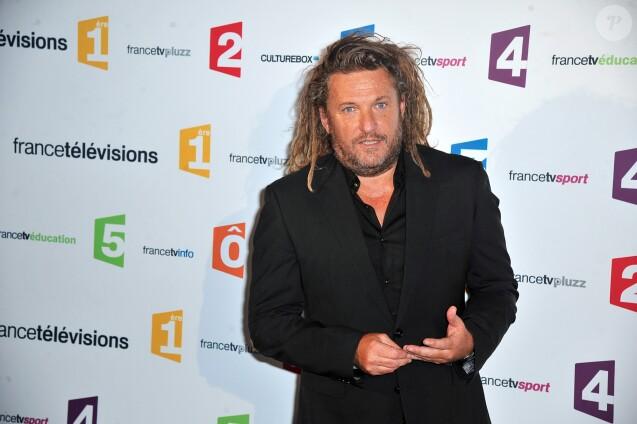 Olivier Delacroix - Conférence de presse de rentrée de France Télévisions au Palais de Tokyo à Paris, le 26 août 2014