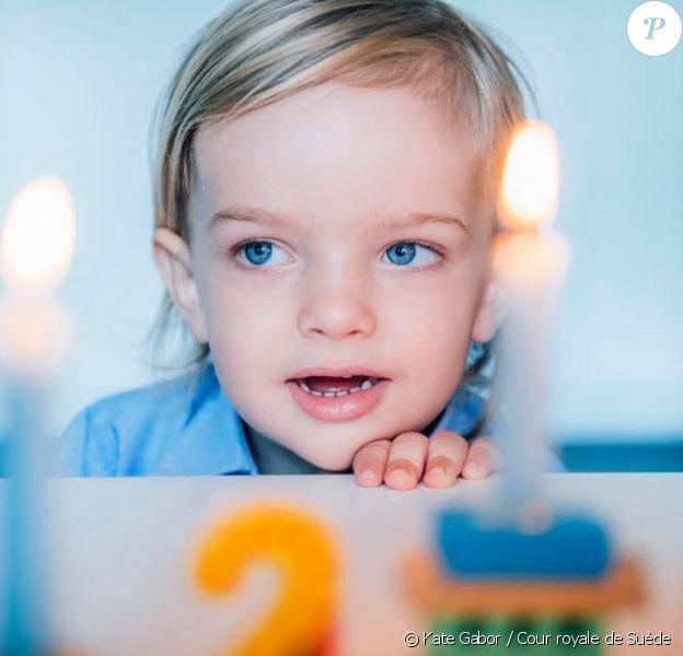 Portrait du prince Nicolas de Suède par Kate Gabor pour son 2eme anniversaire le 15 juin 2017.
