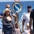 Exclusif - Beyoncé et son mari Jay Z en vacances sur l'Ile de Lipari en Sicile avec leur fille Blue Ivy le 12 août 2016.
