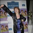 Véronique Genest à la présentation de la pièce  Madame Butterlight  au théâtre de la Gaîté Montparnasse. 28/01/09