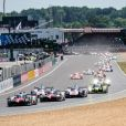 Départ lors des 24h du Mans, France, le 17 juin 2017. © V'Images/Bestimage 2017