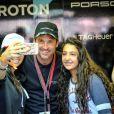 Manager de l'écurie Dempsey-Proton Racing, Patrick Dempsey lors des 24h du Mans, France, le 17 juin 2017. © V'Images/Bestimage