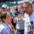 Paul Belmondo lors des 24h du Mans, France, le 17 juin 2017. © V'Images/Bestimage