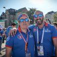 Ecurie Vaillante-Rebellion, Alberto Pecci et Calim Bouhadra lors de la parade avant les 24h du Mans, France, le 16 juin 2017. © V'Images/Bestimage