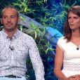 """Frédéric et Clémentine - Finale de """"Koh-Lanta Cambodge"""" sur TF1, le 16 juin 2017."""