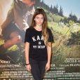 """Thylane Blondeau lors de la première du film """"Belle et Sébastien : l'aventure continue"""" au Gaumont Opéra-Capucines à Paris, le 29 novembre 2015."""