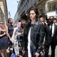 Will Peltz - Arrivées au défilé de mode Louis Vuitton Hommes printemps-été 2018 au Palais Royal à Paris, le 22 juin 2017. © CVS/Veeren/Bestimage