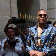 Russell Westbrook - Arrivées au défilé de mode Louis Vuitton Hommes printemps-été 2018 au Palais Royal à Paris, le 22 juin 2017. © CVS/Veeren/Bestimage