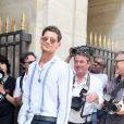Jeremie Laheurte - Arrivées au défilé de mode Louis Vuitton Hommes printemps-été 2018 au Palais Royal à Paris, le 22 juin 2017. © CVS/Veeren/Bestimage