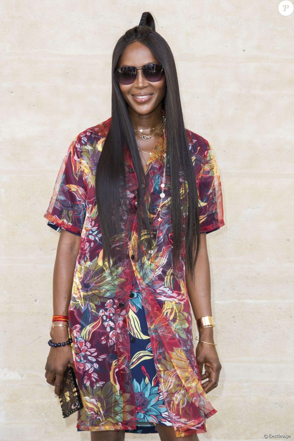 Naomi Campbell - People au photocall du défilé de mode Louis Vuitton Hommes printemps-été 2018 au Palais Royal à Paris, le 22 juin 2017. © Olivier Borde/Bestimage