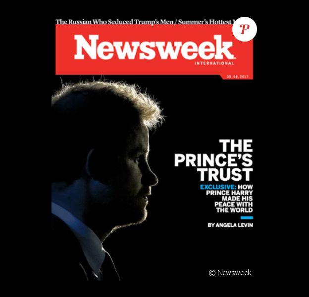 """""""Comment le prince Harry a fait la paix avec le monde"""" : un entretien-portrait passionnant par Angela Levin pour Newsweek, juin 2017."""