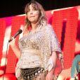 Charlotte Church annonce être enceinte de son troisième enfant lors d'un concert à Birmingham le 28 mai 2017.