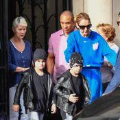 Céline Dion : Séance shopping avec ses jumeaux dans Paris