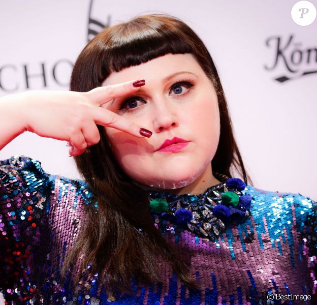 "Beth Ditto aux ""2017 Echo Awards"" à Messe Berlin, le 6 avril 2017."
