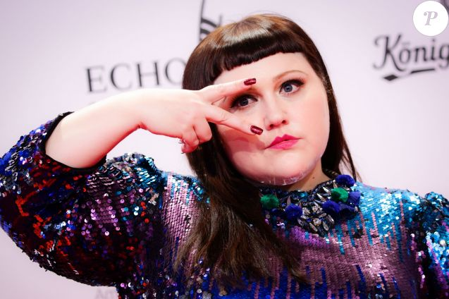 """Beth Ditto aux """"2017 Echo Awards"""" à Messe Berlin, le 6 avril 2017."""