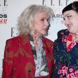 Debbie Harry et Beth Ditto - Tapis rouge de la cérémonie Elle Style Awards 2017 au One Mayfair à Londres, le 13 février 2017
