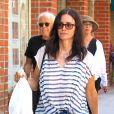 Courteney Cox est allée déjeuner à Beverly Hills, le 28 juin 2017