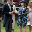 La princesse Eugenie d'York et son compagnon Jack Brooksbank au Royal Ascot 2017 à Londres le 23 juin 2017.