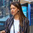 Jessica Alba fait du shopping avec une amie à New York le 14 juin 2017.