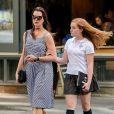 Brooke Shields et sa fille aînée Rowan à New York. Juin 2016.