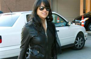 Michelle Rodriguez : une petite pause cool avant de retourner... nettoyer les routes !