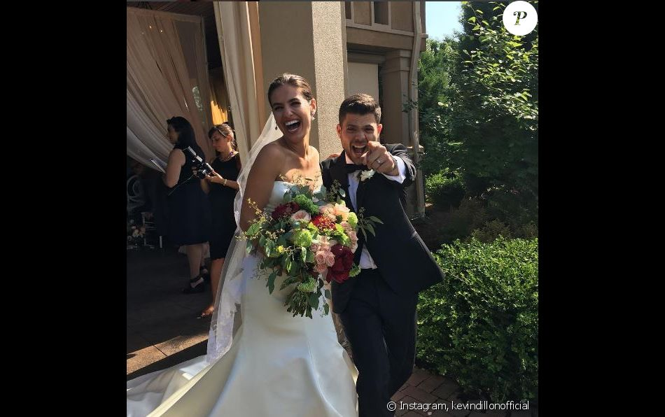 Kevin Dillon a partagé cette photo du mariage de Jerry Ferrara et Breanne Racano. Instagram, juin 2017