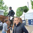 Exclusif - Guillaume Canet et sa nièce Paloma de Crozals - Détente lors du Longines Paris Eiffel Jumping au Champ de Mars à Paris, le 1er juillet 2017. © Borde-Veeren/Bestimage