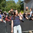 """Liu Wen - Premier défilé de mode """"Chanel"""", collection Haute Couture automne-hiver 2017/2018, au Grand Palais à Paris. Le 4 juillet 2017 © CVS - Veeren / Bestimage"""