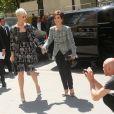 """Katy Perry et sa mère Mary - Deuxième défilé de mode """"Chanel"""", collection Haute Couture automne-hiver 2017/2018, au Grand Palais à Paris. Le 4 juillet 2017 © CVS - Veeren / Bestimage"""