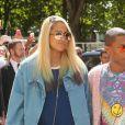 """Pharrell Williams et sa femme Helen Lasichanh - Deuxième défilé de mode """"Chanel"""", collection Haute Couture automne-hiver 2017/2018, au Grand Palais à Paris. Le 4 juillet 2017 © CVS - Veeren / Bestimage"""