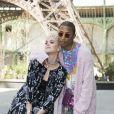 """Katy Perry et Pharrell Williams - Défilé de mode """"Chanel"""", collection Haute Couture automne-hiver 2017/2018, au Grand Palais à Paris. Le 4 juillet 2017. © Olivier Borde/Bestimage"""