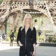 """Claudia Schiffer - Défilé de mode """"Chanel"""", collection Haute Couture automne-hiver 2017/2018, au Grand Palais à Paris. Le 4 juillet 2017. © Olivier Borde/Bestimage"""