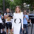 Constance Jablonski - Soirée de la Vogue Paris Foundation, en marge de la Fashion Week Haute Couture. Pallais Galliera à Paris, le 4 juillet 2017.