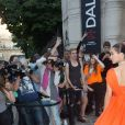 Bella Hadid - Soirée de la Vogue Paris Foundation, en marge de la Fashion Week Haute Couture. Pallais Galliera à Paris, le 4 juillet 2017.